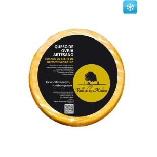 Queso de Oveja Artesano Curado en Aceite de Oliva Virgen Extra 2,7 kg